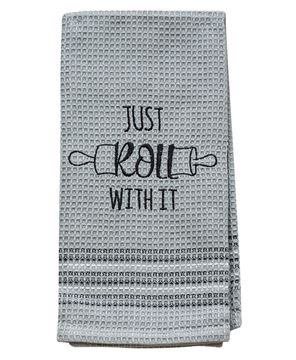 Picture of Just Roll With It Dish Towel