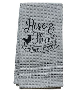 Picture of Mothercluckers Dish Towel