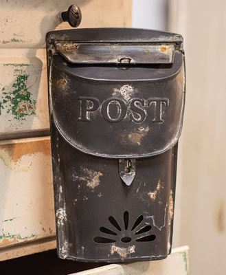 Picture of Small Black Post Box