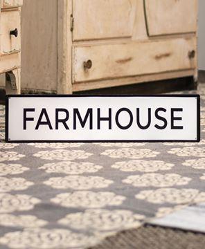 Picture of Farmhouse Enamel Sign