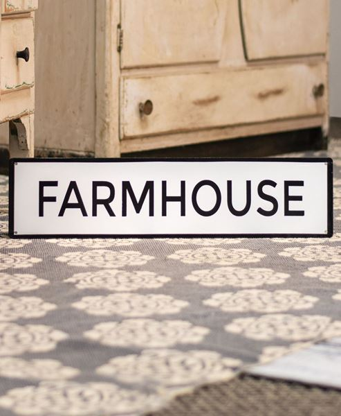 Craft House Designs Wholesale Farmhouse Enamel Sign Craft House
