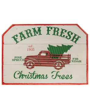 Picture of Farm Fresh Trees Sign