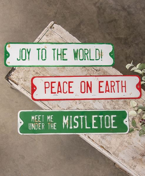 Craft House Designs Wholesale Peace On Earth Street Sign Craft