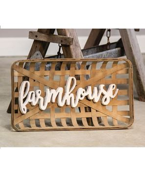 Picture of Farmhouse Tobacco Basket