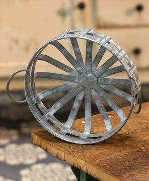 Picture of Galvanized Round Basket