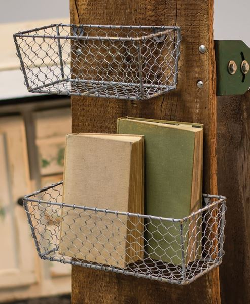 Picture of Wire Wall Baskets, 2/set