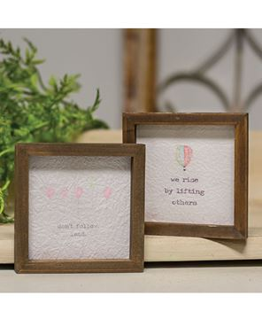 """Picture of Mini Framed Watercolor Art, 4"""" - Rise, 2 asst."""