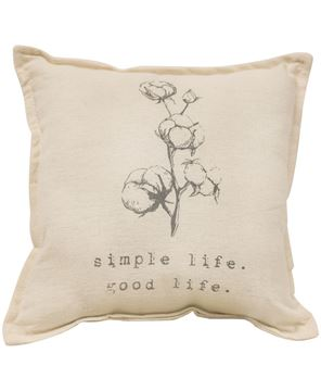 Picture of Simple Life Good Life Pillow