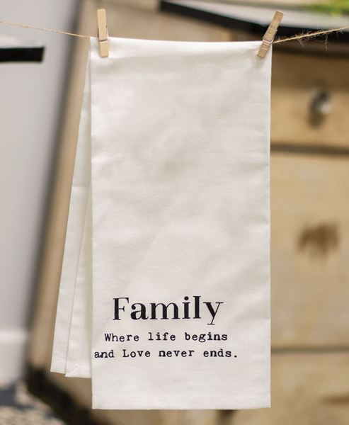 Picture of Family Tea Towel