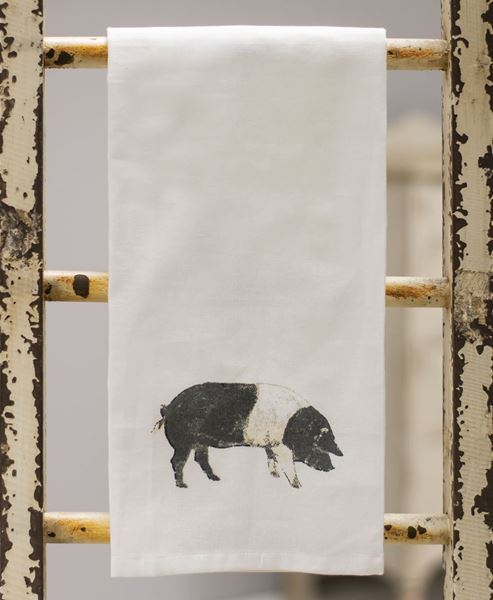 Picture of Pig Tea Towel