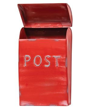 Picture of Red Vintage Post Box