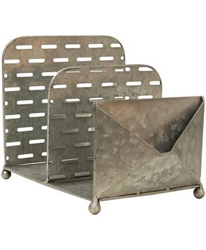 Picture of Olive Bucket File Organizer w/Envelope Pouch