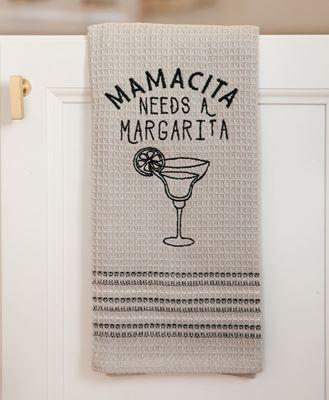Picture of Mamacita Needs a Margarita Dish Towel