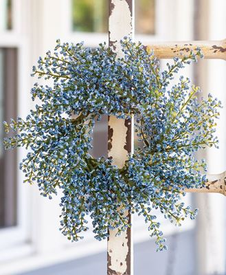 """Picture of Bursting Astilbe Candle Ring, Sky Blue, 3"""""""