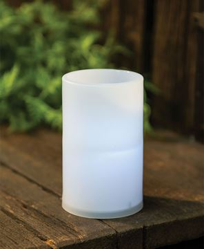Picture of White Pillar Candle, 3 x 5