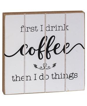Picture of Dear Coffee Block, 2 Asstd.