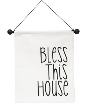 Picture of Bless This House Fabric Banner
