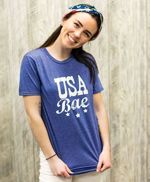 Picture of USA Bae Tee - XXL