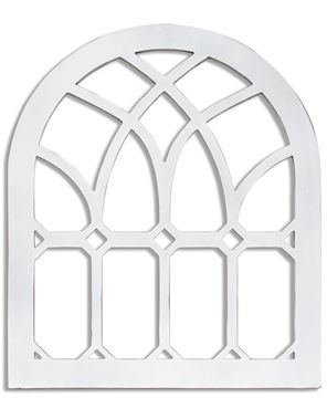 Picture of Wooden Farmhouse Cathedral Arch (Emerald)