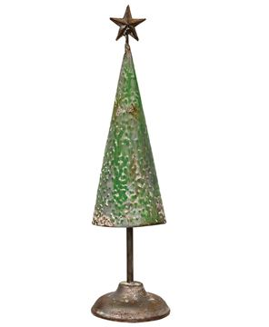 """Picture of Rustic Metal Tree - 14.5"""""""