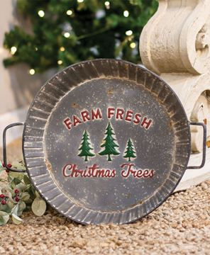 Picture of Farm Fresh Trees Metal Tray
