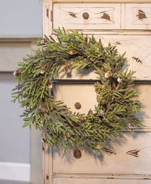 """Picture of Mountain Pine Wreath, 18"""""""