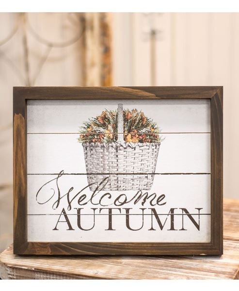 Picture of Welcome Autumn Easel