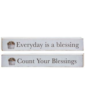 Picture of Everyday is a Blessing Block, 2 Asstd.