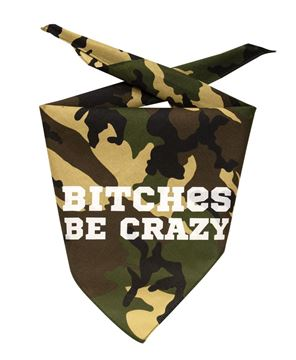 Picture of Be Crazy Doggie Bandana