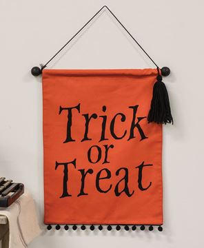 Picture of Trick or Treat Fabric Banner