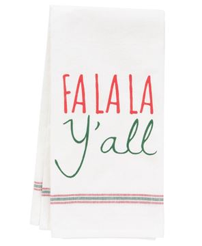 Picture of Fa La La Y'all Dish Towel