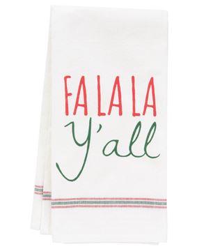 Picture of Fa La La Y'all Dish Towel