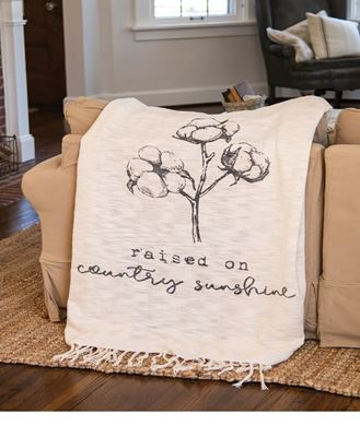 Picture of Country Sunshine Woven Throw