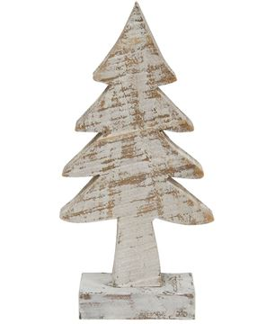 Picture of Distressed Wooden Tree, 8""