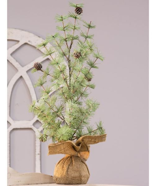 Picture of Tahoe Burlap Base Tree, 24""