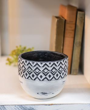 Picture of Geometric Ceramic Bowl