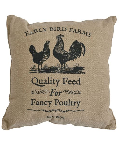 """Picture of Fancy Poultry Pillow, 16"""""""