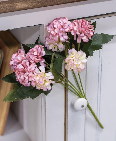 Picture of Mauve Petite Hydrangea Pick