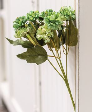 Picture of Sage Green Petite Hydrangea Pick