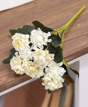 Picture of Ivory Petite Hydrangea Pick