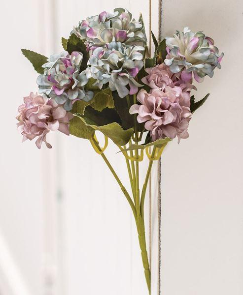 Picture of Blue Hydrangea Pick