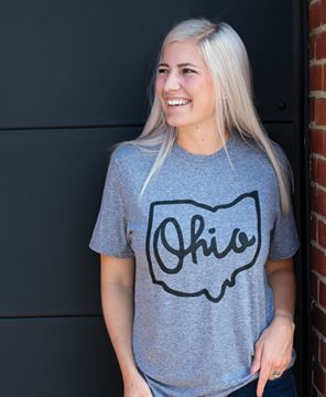 Picture of Ohio Tee - Heather Graphite - XXL