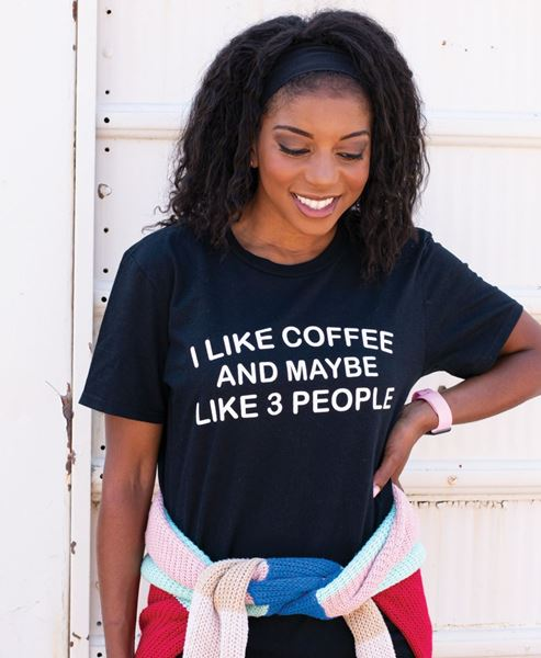 Picture of I Like Coffee Tee