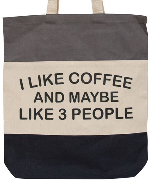 Picture of I Like Coffee Tote
