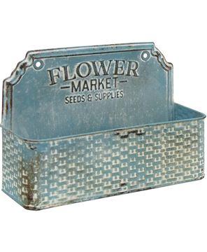 Picture of Flower Market Metal Basket