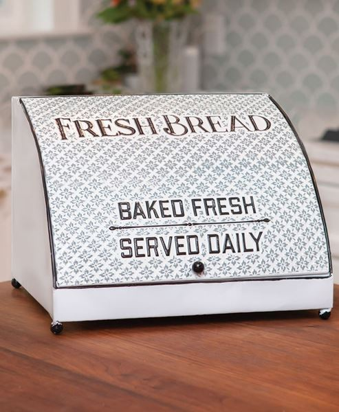 Picture of Embossed Bread Box