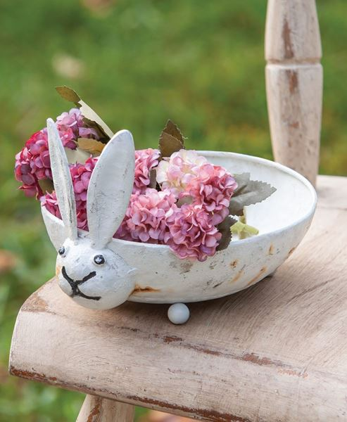 Picture of Distressed Bunny Dish