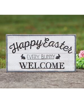 Picture of Every Bunny Welcome Easter Wood Sign