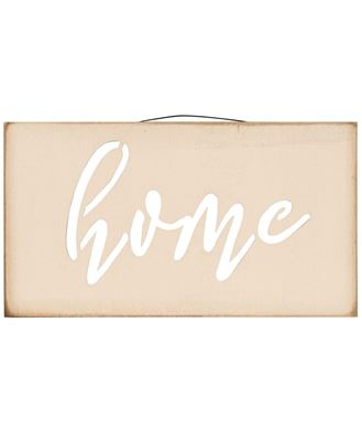 Picture of Home Cut-out Wooden Sign
