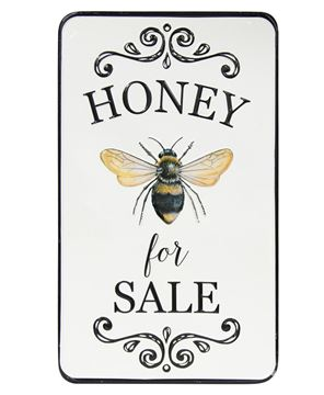 Picture of Honey For Sale Metal Wall Sign